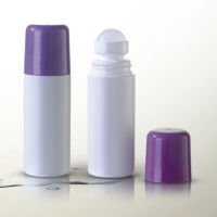 Buy cheap PP Frosted Cosmetic Reusable Roll On Deodorant Bottle MSDS from wholesalers