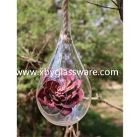 Buy cheap Crystal glass hanging vase from wholesalers