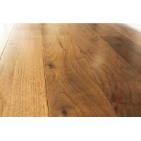Buy cheap American walnut solid hardwood floors, real solid floors, ABC grade, flat surface with semi-gloss from wholesalers
