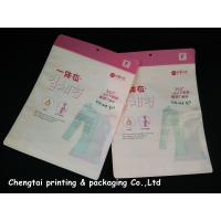 Buy cheap OEM Custom Clothing Packaging Bags / Garment Plastic Pouches Eco - Friendly from wholesalers