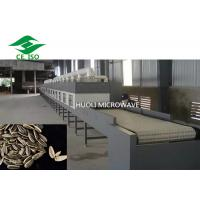 Buy cheap Fully Automatic Microwave Drying Equipment Seeds Soybean Grains Baking Device from wholesalers