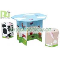 Buy cheap New Design Folding Cardboard Mushroom Table and Chairs for Kids from wholesalers