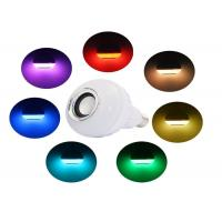 Buy cheap Dimmable Colorful Audio Bluetooth Music Light Bulb Wireless For Home from wholesalers