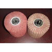Buy cheap Inon-woven Flap Brushes, Interleaved Flap wheels, flap wheel from wholesalers