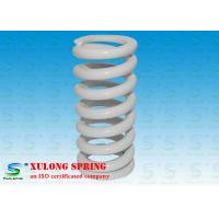 Buy cheap White Plating Customized Elevator Compression Springs Oil Tempered Steel Material from wholesalers