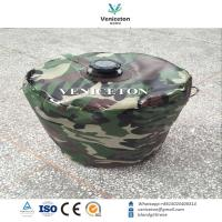 Buy cheap Portable foldable camping water storage drum for outdoor  emergency water storage tank from wholesalers