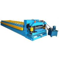 Buy cheap Color Coated Coil 16 Station Roller Roll Forming Machine For Roofing Sheet from wholesalers