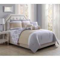 Buy cheap 6 Piece Full Ariane Sunshine/Gray Reversible Comforter Set from wholesalers