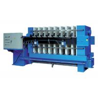 Buy cheap Automated Tilting Plate And Frame Filter Press 0.8 Mpa Plate Size 1500mm from wholesalers