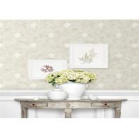 Buy cheap Moisture Resistant Country Style Wallpaper Elegant With Flower Pattern product