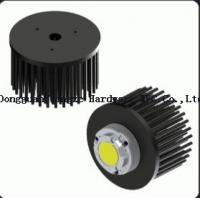 China Custom Formed Aluminum Anodized Heat Sink Round , Die Casting Heat Sink on sale