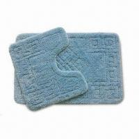 Buy cheap Bathroom Rug with 1.2m Machine Width, Various Patterns are Available from wholesalers