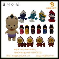 Buy cheap various silicon PVC usb pendrive little child usb flash drive cartoon usb disk product
