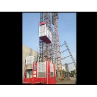 Buy cheap Construction Site Rack / Pinion Hoist And Lifting Equipment For Passenger / Material Elevator from wholesalers