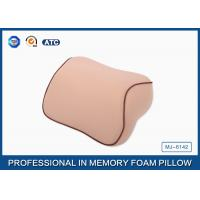 Buy cheap Custom Memory Foam Car Neck Pillow / Head Neck Support Pillow With Elastic Strap from wholesalers