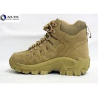 Buy cheap Anti Slip Military Tactical Shoes Mid Calf Sports Hiking Weather Resistant product