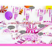Buy cheap Frozen kids girls disposable paper cups + plates party pack birthday Party Decoration Set party supplies for 6 people from wholesalers