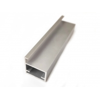 Buy cheap Smooth Aluminium Door Profiles for Glass Door Silver Anodized High Hardness Of Paint Film from wholesalers