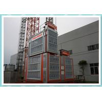 Buy cheap Double Cage Rack And Pinion Elevator Hoist Platform For Bridge / Tower from Wholesalers