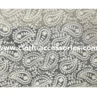 Buy cheap Wedding Guipure Net Lace Fabric Trim 7.5 Yard With Cashew Printed from wholesalers