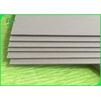 Buy cheap 300gsm Grey Board Paper Waterproof Chipboard Paper In Roll / Sheet ISO 9001 Certified from wholesalers