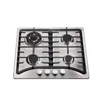 Built In Stainless Steel Top Auto Ignition Gas Stove 4 Burner 580 * 500mm