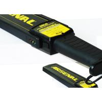 Buy cheap Super Scanner Hand Held Metal Detector Industrial Rechargeable Battery from wholesalers