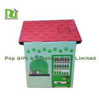Buy cheap Customization Cardboard Cat Scratcher House Display For Pet Retailers , Eco Friendly from wholesalers