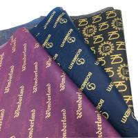 Buy cheap Custom Printed Logo Gift Wrapping Paper Clothing Tissue Paper  WhatsApp +1 7082690275 from wholesalers