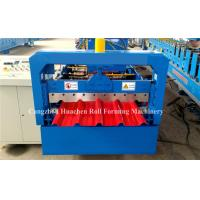 Buy cheap 5.5Kw Metal Roofing Sheet Roll Forming Machine Electric Control Standing Seam from wholesalers