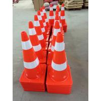 Buy cheap Road Safety Guiding Cone Orange PVC Plastic Traffic Cones from wholesalers