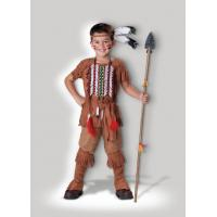 Buy cheap Brown Indian Brave 7040 Kids Halloween Costumes , Customized Egyptian Fancy Dress from wholesalers