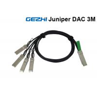 Buy cheap Juniper Passive 40G Breakout Cable QSFP+ to 4 SFP+ For QDR Infiniband from wholesalers