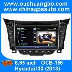 Buy cheap Ouchuangbo S100 Platform DVD Radio Player for Hyundai I30 2013 Wifi GPS Sat Nav Multimedia from wholesalers
