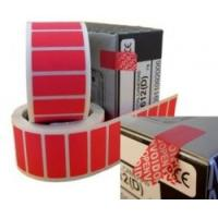 Buy cheap Non Residue Void Sticker Label , Single Sided Tamper Proof Labels from wholesalers