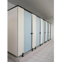 Buy cheap commercial public HPL shower toilet cubicle partitions from wholesalers