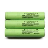 Buy cheap High Capacity 3.6V Cylindrical Lithium Battery 2250mAh , Panasonic 18650 Battery from wholesalers