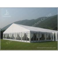 Buy cheap Luxury Fully Decorated 20X20 Party Tent With Sidewalls , Outdoor Party Marquee from Wholesalers
