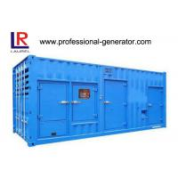 Buy cheap 20 Or 40 Feet Container Generator / Gen Set 800kva - 1880kva With Cummins Engine from wholesalers