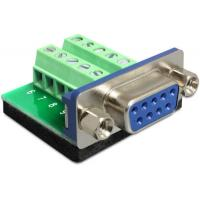 Buy cheap Terminal block Adapter Sub-D 9 pin female we can offer OEM block pitch 3.81mm or 5.08mm or other from wholesalers