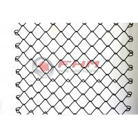 Buy cheap Chinese Manufacturer of Black Chain Link Fence Wholesale 50mm Hole Size 9 Gauge Wire product