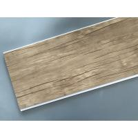 Buy cheap Wood Color Plastic Laminate Wall Covering , Pvc Laminated Ceiling Board from wholesalers