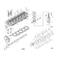 Buy cheap DCEC Cummins 6CT,6CTA,6CTAA series diesel engine spare parts from wholesalers