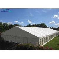 Buy cheap Waterproof Fireproof Cover Marquee Party Tent For Activity , Large Wedding Tent from wholesalers