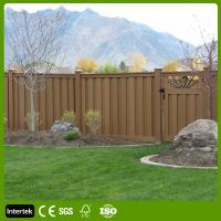 Buy cheap Anti-UV Fences Fencing with Wood Plastic Composite Building Materials from wholesalers