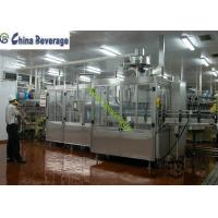Buy cheap Energy Drink Water Bottle Filling Machine , Carbonated Soft Drink Production Line from wholesalers