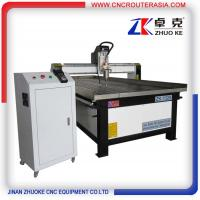 stainless steel water slot Metal Wood Engraving Machine with spindle temparature