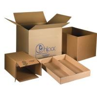 Buy cheap Cardboard Custom Carton Boxes For Moving House Embossing / Glossy Lamination from wholesalers
