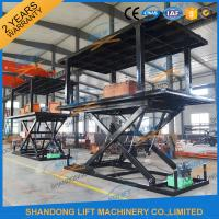 Buy cheap CE ISO SGS Double Deck Car Parking System / 2.5T 2 Car Automotive Vehicle Lifts from wholesalers