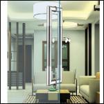 Buy cheap Lockable Internal Door Handles Anti - Theft Stainless Steel Door Pulls from wholesalers